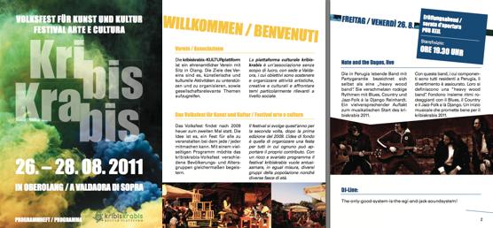 Programm-Heft für das Volksfest downloaden